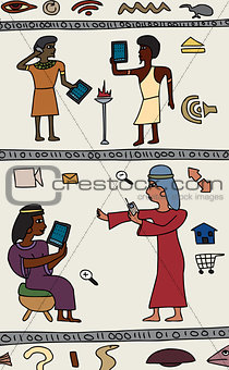 Ancient High-Tech People