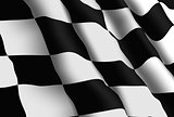 Racing Flag Wallpaper