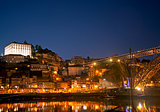 ribeira old town area of porto portugal