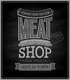 Meat shop - Chalkboard.