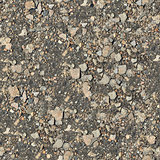 Seamless Texture of Stony Soil.