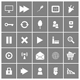 Universal Flat Vector Icons Set 2