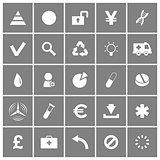 Universal Flat Vector Icons Set 3