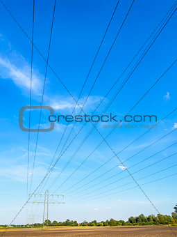 Power cable and power pole