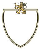 crest with golden lion