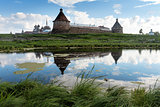 Solovki. Spaso-Preobrazhenskiy solovetsky monastery, Karelia, Ru