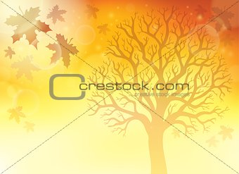 Autumn theme background 5