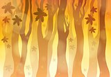 Autumn theme background 6