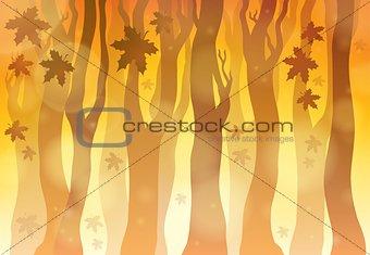 Autumn theme background 6