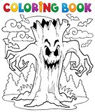 Coloring book Halloween character 7
