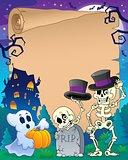 Halloween parchment 9