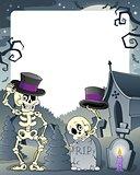 Halloween theme frame 3