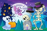Halloween topic scene 5