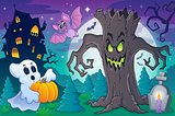 Halloween topic scene 6