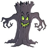 Spooky tree theme image 1