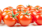 Fresh Cherry Tomatoes background