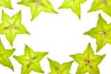 Starfruit (carambola) slices