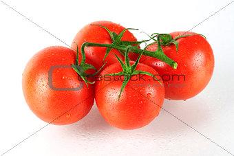 Four fresh tomatos