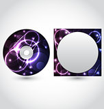 Cd disk packing design template