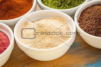 African baobab fruit  powder