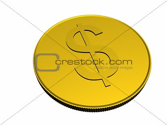 One gold coin