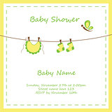 Neutral Baby Invitation