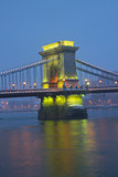 Chain Bridge pillar, Budapest