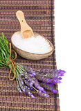 Fresh lavender spa set