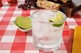 Lime spritzer
