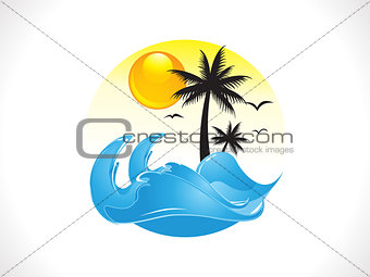 abstract summer holiday background