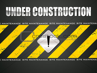 abstract under construction background