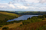Crai Reservoir in Beacons National Park, South Wales