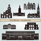 Stockholm landmarks and monuments