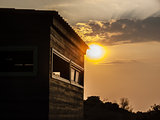 Sunset - Wooden House