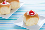 Guava Cream Cheese Custard Rolls