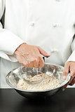 Chef Prepares Pastry