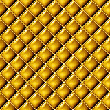 Seamless gold upholstery background pattern.