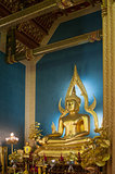 Buddha statue in the marble temple, Bangkok