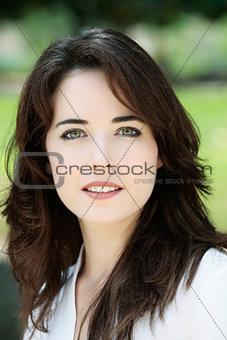 beautiful charming woman