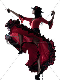 woman gipsy flamenco dancing dancer