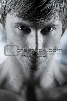 handsome man beauty