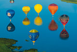 Mondial hot Air Balloon reunion in Lorraine France