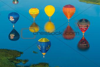 Mondial hot Air Balloon reunion in Lorraine France