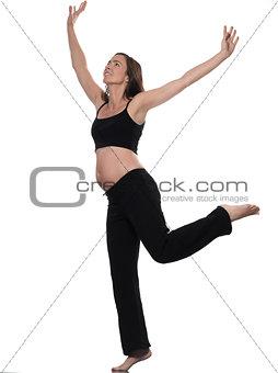 Pregnant Woman Balance Exercise