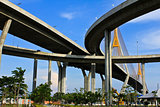 Industrial Circle Bridge in Bangkok, Thailand