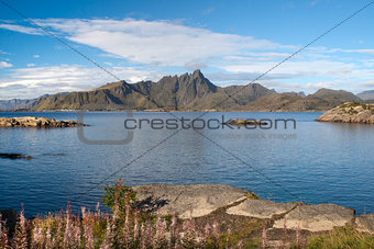 Mortsund, Lofoten Islands, Norway, Scandinavia