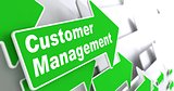 Customer Management. Business Concept.