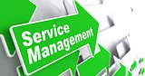 Service Management. Business Concept.