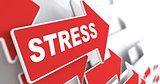 Stress. Social Concept.