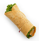 Turkey Wrap Sandwich